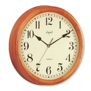 Opal Luxury Time Products 14'' High Quality Wooden Case Wall Clock