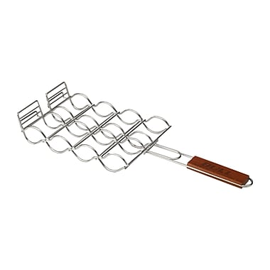 Bull Outdoor Stainless Adjustable Corn Grilling Basket