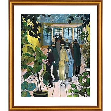 Evive Designs 'Impression of Paris' by Marie Versailles Framed Painting Print