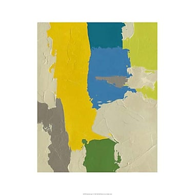Evive Designs 'Random Logic IV' by Chariklia Zarris Painting Print