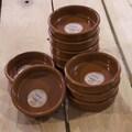 Regas Ceramics 10 Piece Terracotta Casseroles Set; Extra Large