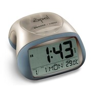 Opal Luxury Time Products Table Top Digital Alarm Clock; Blue