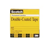 Shamrock Scotch Tape, Double-Coat, #665, 1/2X36 yard