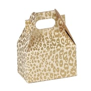Shamrock Gable Box, Mini, Golden Cheetah
