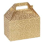 Shamrock Gable Box, Golden Cheetah, 8""