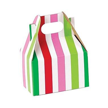 Shamrock Gable Box, Mini, Santa Stripe