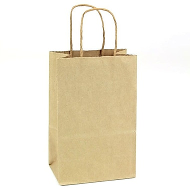 Shamrock Natural Kraft Paper Shopper, Toucan