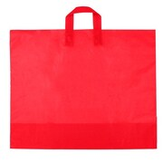 Shamrock Frosted Soft Loop Ameritote Bag, Red, 22X18X8