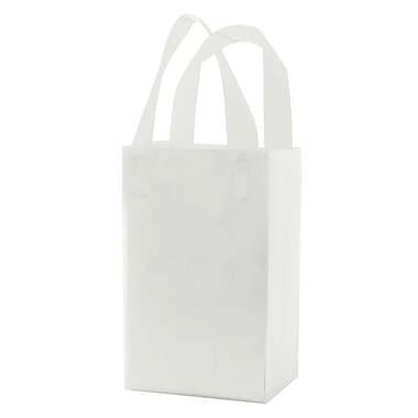 Shamrock Clear Soft Loop Handle Shopping Bag