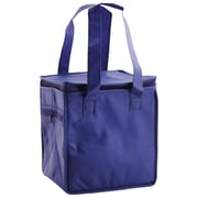 Shamrock Non-Woven Thermo Lunch Tote, Royal Blue, 8X6X8.5