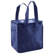 Shamrock Non-Woven Thermo Lunch Tote, Navy, 8X6X8.5