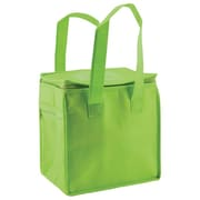 Shamrock Non-Woven Thermo Lunch Tote, Limegreen, 8X6X8.5