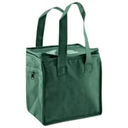 Shamrock Non-Woven Thermo Lunch Tote, Dark Green, 8X6X8.5