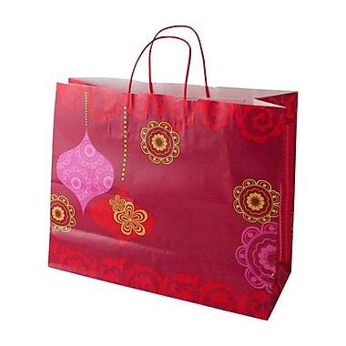 Shamrock Printed Paper Shopper, Mod Ornaments, Jaguar