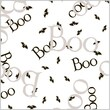 Shamrock Printed Cello Bag, Boo Bat, 3.5X2X7.5