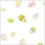 Shamrock Printed Cello Bag, Swirled Eggs, 3.5X2X7.5