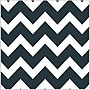 Shamrock Printed Tissue, Bold Chevron Black