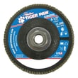 "Weiler® Tiger Paw™ 36 Grit Super High Density Flap Disc With 5/8"" Arbor Hole, 4 1/2"""