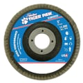 Weiler® Tiger Paw™ 60 Grit Coated Abrasive Flap Disc With 7/8in. Arbor Hole, 5in.