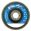 Weiler® Tiger Paw™ 40 Grit Coated Abrasive Flap Disc, 5""