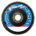 Weiler® Tiger Paw™ 40 Grit Coated Abrasive Flap Disc, 4in.