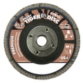 Weiler® Tiger® 50669 Abrasive Flap Disc, 4 1/2in.