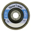 "Weiler® Tiger® 5"" 80 Grit Angled Flap Disc, 10/Pack"