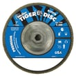 Weiler® Tiger Disc 120 Grit Abrasive Flap Disc, 7in.