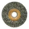 Weiler® Copper Center™ 2in. Small Diameter Wire Wheel Brush