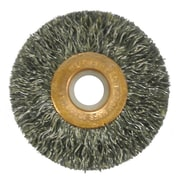 "Weiler® Copper Center™ 2"" Small Diameter Wire Wheel Brush"