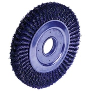 "Weiler® Dualife® 12"" Wide Face Standard Twist Knot Wire Wheel Brush"
