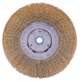 Weiler® Trulock™ 6in. Narrow Face Crimped Wire Wheel Brush