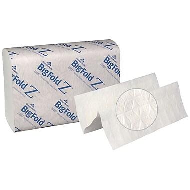 Georgia Pacific BigFold Z® Premium C-Fold Replacement Paper Towel, White, 220/Pack