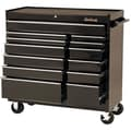 Blackhawk 41in. 13 Drawer Roller Cabinet, Black