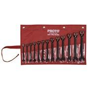 Proto® 13 Piece Spline Reversing Combination Ratcheting Wrench Set