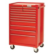 "Proto® 440SS 27"" 12 Drawer Roller Cabinet, Red"