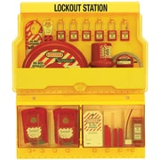 Master Lock® Safety Series™ Deluxe Lockout Station
