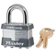 Master Lock® 4 Pin Keyed Alike Laminated Padlock With 1.75 Shackle, 6/Box