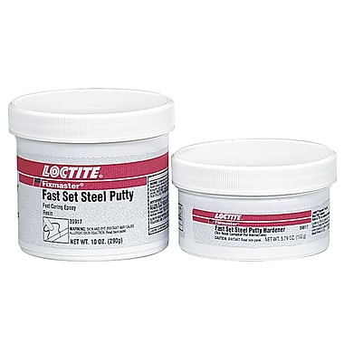 Loctite Fixmaster Fast Set Steel Putty Adhesive 1 oz.