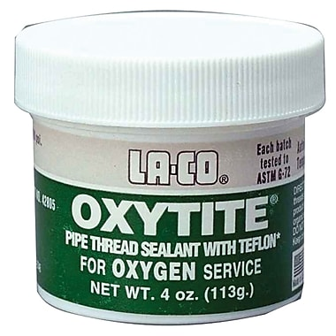 Markal® Oxytite® White Pipe Thread Sealant, 4 oz. Jar