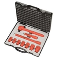 Knipex® 10 Piece Insulated Socket Set, 3/8in. Drive