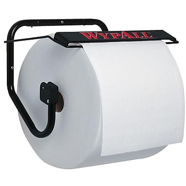 Kimberly-Clark Professional® Wypall® Jumbo Roll Wall Mount Dispener, Black