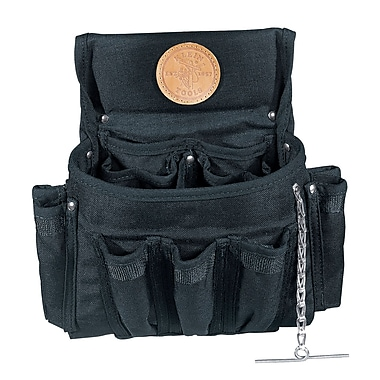 Klein Tools® PowerLine 18-Pocket Electrician's Tool Pouch, 11