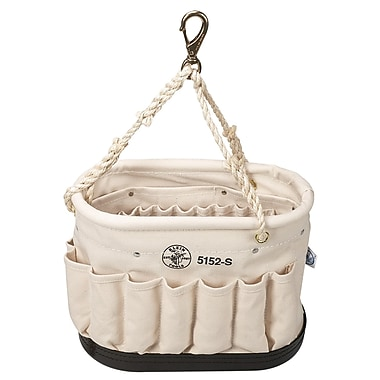 Klein Tools® Canvas Oval Bucket With 41 Pockets