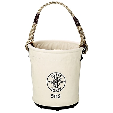 Klein Tools® Canvas Tapered Wall Bucket, 13