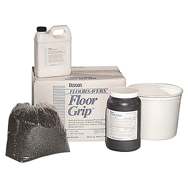 Devcon® Floor Grip™ 2 gal Anti-Skid Epoxy, Black