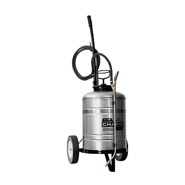 Chapin® 6 Gallon Stainless Steel Cart Sprayer