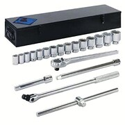 "Armstrong® Tools 20 Piece Mechanics Socket Set, 3/4"" Drive"