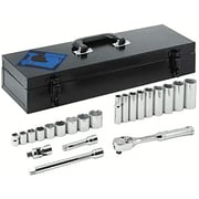"Armstrong® Tools 22 Piece Mechanics Socket Set, 0.375"" Drive"