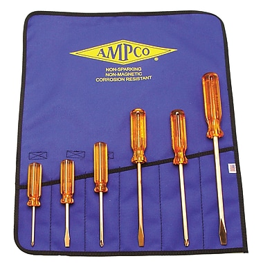 Ampco® Safety Tools 6 Piece Screwdriver Set